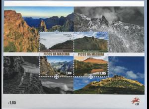 Madeira 2017 Block 68 Berge Madeiras Natur Landschaft Tourismus Wanderwege