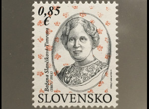 Slowakei Slovakia 2017 Nr. 823 150. Geburtstag von Božena Slančíková-Timrava