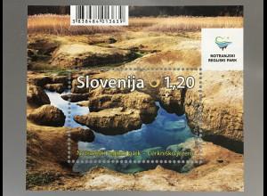 Slowenien Slovenia 2017 Block 100 Naturparks in Slowenien Notranjska