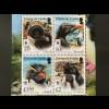 Tristan da Cunha 2017 Block 75 WWF Rockhopper Pinguine World Wild Found