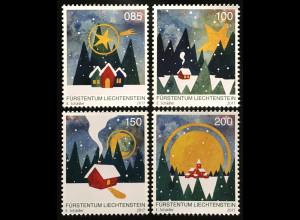 Liechtenstein 2017 Nr. 1879-82 Weihnachten Christmas Weihnachtsmarken