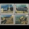 Gibraltar 2017 Michel Nr. 1806-14 Militärisches Erbe in Gibraltar Friedhof