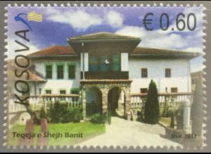 Kosovo 2017 Michel Nr. 394 Monumentalkunst Moderne Architektur Gebäude