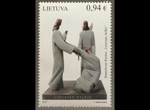 Litauen Lithuania 2017 Nr. 1255 Moderne Kunst Skulpturen Stanislovas Kuzma