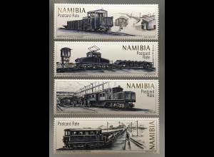 Namibia 2017 Nr. 1566-69 Industriebahnen der Diamantenminen Lokomotiven Diesel