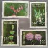 Zypern türkisch Cyprus Turkish 2017 Nr 842-45 Einheimische Pflanzen Flora Blumen