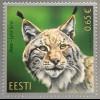 Estland EESTI 2017 Nr. 901 Estnische Fauna der Luchs Wildtiere Fauna