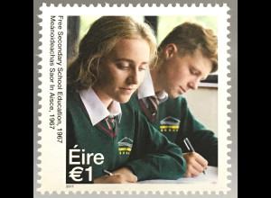 Irland 2017 Nr. 2234 Freie Sekundarschule Ausbildung Schultypen
