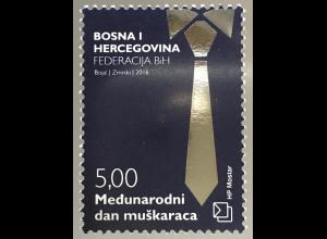 Bosnien Herzegowina Kroatische Post Mostar 2016 Nr. 446 Tag des Mannes