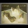 Lettland Latvia 2017 Nr. 1021 Moderne Kunst Keramik Dainis Pundurs Handwerk