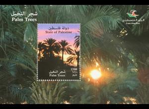 Palästina State of Palestine 2017 Neuheit Palmen Palmengewächse Monokotyledonen