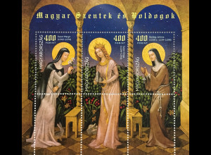 Ungarn Hungary 2017 Block 405 Heilige und Selige Szent Margit Gemäldemotiv