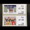 Irland 2017 Michel Nr. 91-92 Weihnachten Christmas Natale Weihnachtsmotiv