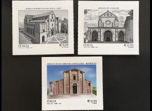 Italien Italy 2017 Michel Nr. 3999-4001 Künstlerisches und kulturelles Erbe
