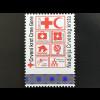 Montenegro 2017 Neuheit Zwangszuschlagsmarke Rotes Kreuz mit Hologrammstreifen