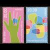 Norwegen 2017 Nr. 1954-55 Gehörsinn und Sprache Verständigung Handzeichen