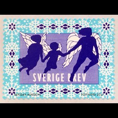 Schweden Sverige 2017 Nr. 3201 Engel Engelmotiv Weihnachten Christmas Natale