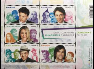 Kanada Canada 2017 Block 196 Comedians Komiker Mike Myers Oliver Guimond