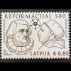 Lettland Latvia 2017 Nr. 1027 500. Jahrestag der Reformation Martin Luther