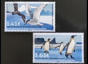 Französische Gebiete in der Antarktis TAAF 2017 Neuheit Vögel Fauna Pinguin