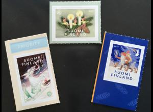 Finnland Finland 2017 Michel Nr. 2541-43 Weihnachten Christmas Rudolf Koivu