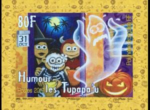 Polynesien französisch Polynesie Francaise 2017 Nr. 1366 Humor Geister Halloween