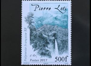 Polynesien französisch Polynesie Francaise 2017 Nr. 1368 Pierre Loti Offizier