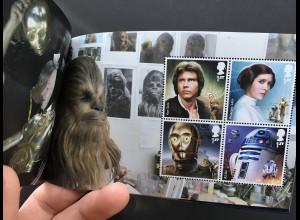 Großbritannien 2017 Neuheit Presige Markenheft Star Wars Making of Droids