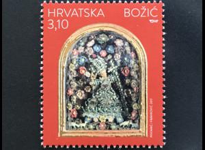 Kroatien Croatia 2017 Nr. 1295 Weihnachten Christmas Natale Jesus Wachsfigur