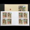 Vatikan Cittá del Vaticano 2017 MH 26 mit Michel Nr. 1918-19 Weihnachten