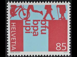Schweiz 2013 Michel Nr. 2283 ** 75 Jahre Beratungsstelle für Unfallverh. (BFU)