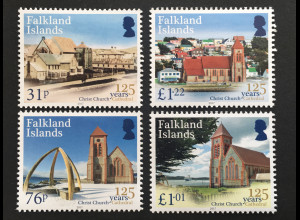 Falkland Inseln 2017 Nr. 1353-56 Christ Church Cathedral Bauwerk Christentums