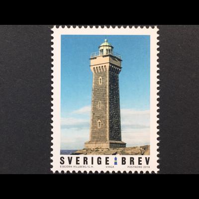 Schweden Sverige 2018 Nr. 3213 Leuchttürme Türme mit Befeuerung Bogenmarke