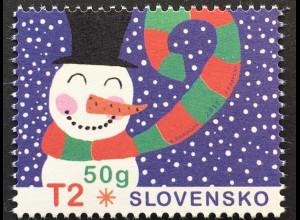 Slowakei Slovakia 2017 Michel Nr. 829 Weihnachten Christmas Natale