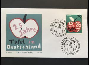 Bund BRD Ersttagsbrief FDC Nr. 3361 1. Februar 2018 25 Jahr Tafel in Deutschland