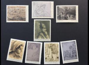 Albanien 2017 Nr. 3567-74 Kunst Graphik Nationalheld Skanderbeg Leningrad