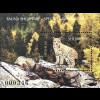 Albanien 2017 Block 197 Bedrohte Tierarten Eurasischer Luchs Fauna Säugetiere