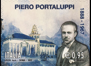 Italien 2017 Michel Nr. 4002 Todestag von Piero Portaluppi Kulturelles Erbe