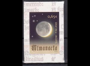 Finnland 2005 MiNr. 1736 300 Jahre Kalender in finnischer Sprache Mond