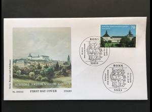 Bund BRD Ersttagsbrief FDC Nr. 3366 1. März 2018 Schloß Friedenstein in Gotha