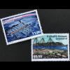 Grönland 2018 Nr. 784-85 Verlassene Anlagen Landschaften Industrie