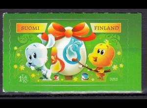 Finnland 2012 Michel Nr. 2164 selbstklebend Ostern Briefmarke Häschen und Küken