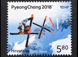 Kroatien Croatia 2018 Nr. 1302 Olympische Winterspiele Pyeongchang Sport