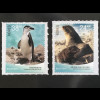 Norwegen 2018 Nr. 1962-63 Fauna auf der Bouvetinsel Seebär Zügelpinguin Tiere