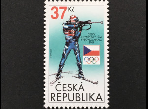 Tschechische Republik 2018 Nr. 957 Olympische Winterspiele, Pyeongchang Sport