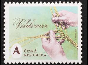 Tschechische Republik 2018 Nr. 962 Freimarke Ostern Kirchliches Fest Religion