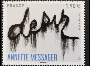 Frankreich France 2018 Nr 6957 Kunst Verlangen Gemälde von Annette Messager