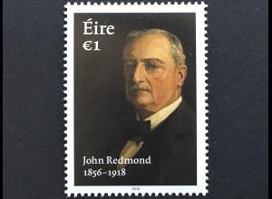 Irland 2018 Nr. 2256 John Redmond Führer der Irish Parliamentary Party Politik