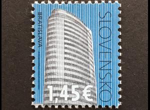 Slowakei Slovakia 2018 Nr. 837 Freimarke Kulturerbe Kreditbank Bratislava