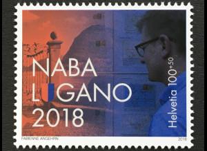 Schweiz 2018 Michel Nr 2549 Nationale Briefmarkenmausstellung NABA LUGANO 2018